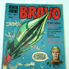 Tebeos: BRAVO Nº 6 REVISTA JUVENIL EDITORIAL BRUGUERA AÑOS 60. Lote 24134879