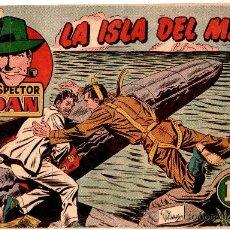 Tebeos: EL INSPECTOR DAN Nº 71 , EDI. BRUGUERA 1951, ORIGINAL, MUY DIFICIL. Lote 24255776