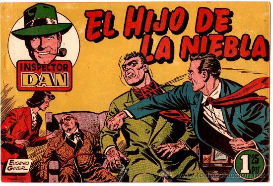EL INSPECTOR DAN Nº 13 , EDI. BRUGUERA 1951, ORIGINAL, (Tebeos y Comics - Bruguera - Inspector Dan)