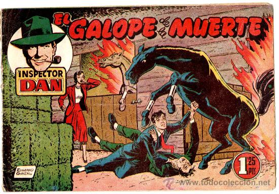 EL INSPECTOR DAN Nº 30 , EDI. BRUGUERA 1951, ORIGINAL, (Tebeos y Comics - Bruguera - Inspector Dan)