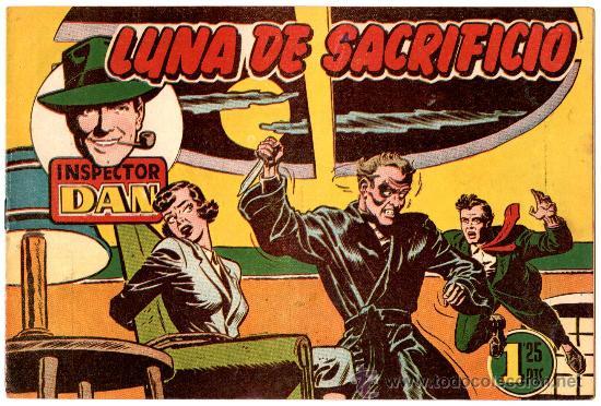 EL INSPECTOR DAN Nº 35 , EDI. BRUGUERA 1951, ORIGINAL, (Tebeos y Comics - Bruguera - Inspector Dan)
