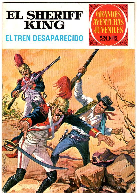 EL SHERIFF KING Nº 6, EXCELENTE ESTADO, GRANDES AVENTURAS JUVENILES BRUGUERA (Tebeos y Comics - Bruguera - Sheriff King)