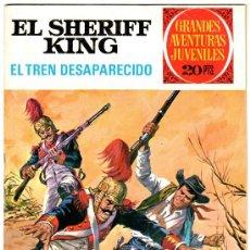 Tebeos: EL SHERIFF KING Nº 6, EXCELENTE ESTADO, GRANDES AVENTURAS JUVENILES BRUGUERA. Lote 24261472