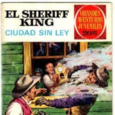 Tebeos: EL SHERIFF KING Nº 18, EDI. BRUGUERA, GRANDES AVENTURAS JUVENILES. Lote 24261621