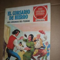 Tebeos: EL CORSARIO DE HIERRO. Lote 25858002