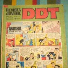 Livros de Banda Desenhada: DDT Nº 189 3ª EPOCA BRUGUERA CON EL LEON DE DAMASCO, DE FUENTES MAN C24X3. Lote 54955945