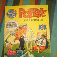 Tebeos: POPEYE LIOS A PORRILLO COLECCIÓN BRAVO Nº 4 ......C17. Lote 24437888