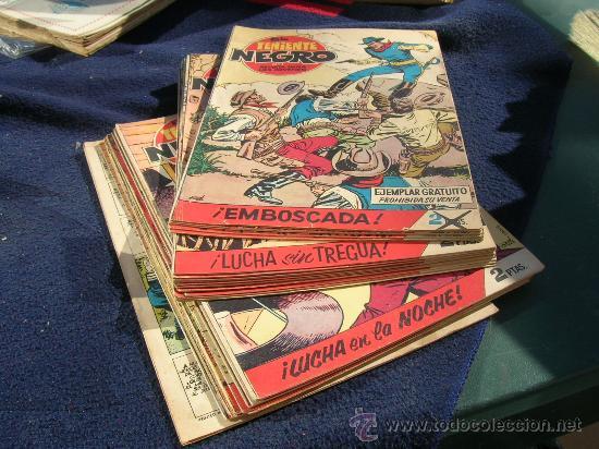 EL TENIENTE NEGRO SUELTA COMPLETA Y ORIGINAL (Tebeos y Comics - Bruguera - Cuadernillos Varios)