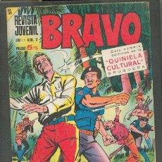 Tebeos: REVISTA JUVENIL BRAVO Nº 2, EDITORIAL BRUGUERA. Lote 24384877