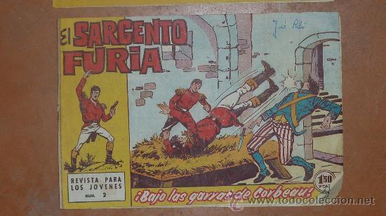Tebeos: Lote de 3 comics antiguos. El capitan trueno y el sargento furia. - Foto 3 - 43817259