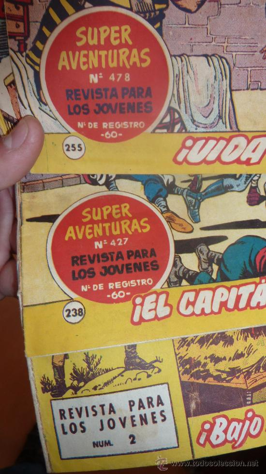 Tebeos: Lote de 3 comics antiguos. El capitan trueno y el sargento furia. - Foto 4 - 43817259