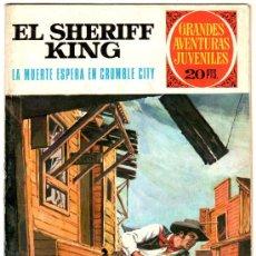Tebeos: EL SHERIFF KING Nº 14, EDI. BRUGUERA, GRANDES AVENTURAS JUVENILES. Lote 24643625