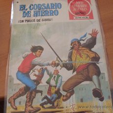 Tebeos: EL CORSARIO DE HIERRO Nº 42 JOYAS LITERARIAS JUVENILES SERIE ROJA 30 PTS (PRIMERA EDICION) (COIB191). Lote 237497190