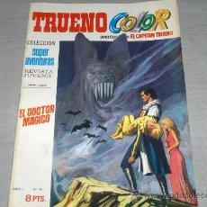 Tebeos: TRUENO COLOR 1ª ÉPOCA Nº 50. BRUGUERA 1970. 8 PTS. BUEN ESTADO.. Lote 24751679
