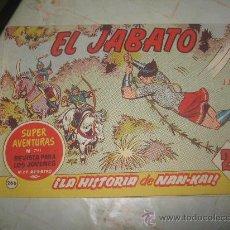 Tebeos: EL JABATO Nº 266,DE EPOCA COLECCION DE 381 NUMEROS.. Lote 24798465