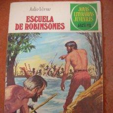 Tebeos: JOYAS LITERARIAS JUVENILES Nº 108: ESCUELA DE ROBINSONES. Lote 24873300