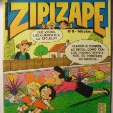 Tebeos: ZIPI Y ZAPE, Nº9 AÑO 1.987. Lote 24882007