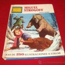 Tebeos: HISTORIAS FAMOSAS - J. VERNE - MIGUEL STROGOFF - ED. BRUGUERA, 1974. Lote 26616130
