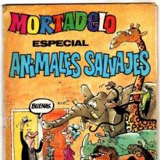 Tebeos: MORTADELO ESPECIAL ANIMALES SALVAJES,100 PGS. SHERIFF KING 30 PAGINAS ,CON FICHAS DE FUTBOL, CONAN. Lote 25034133