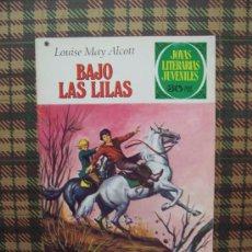 Tebeos: LOUISE MAY ALCOTT - BAJO LAS LILAS - JOYAS LITERARIAS Nº 169 - 1978. Lote 25049240
