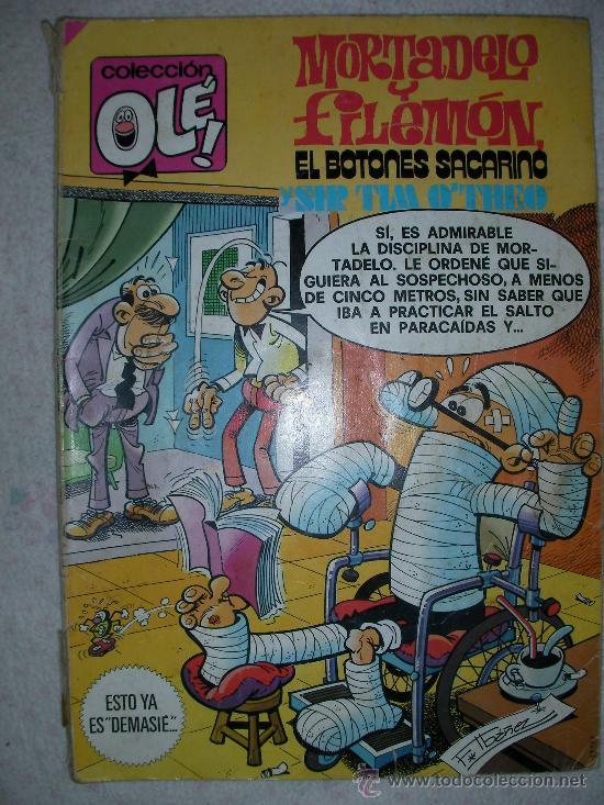 MORTADELO Y FILEMON EL BOTONES SACARINO Y SIR TIM OTHEO - ENVIO INCLUIDO A ESPAÑA (Tebeos y Comics - Bruguera - Ole)