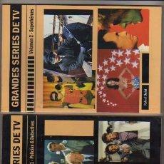 Tebeos: GRANDES SERIES DE TV-AÑOS 60TAS 80TAS.2 LIBRILLOS DE 65 PAG.C/UNO. Lote 90389016