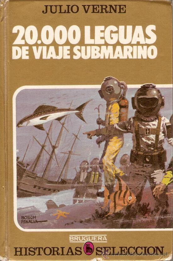 20000 LEGUAS DE VIAJE SUBMARINO - JULIO VERNE - BRUGUERA - COLECCIÓN HISTORIAS SELECCIÓN - 1981 (Tebeos y Comics - Bruguera - Historias Selección)