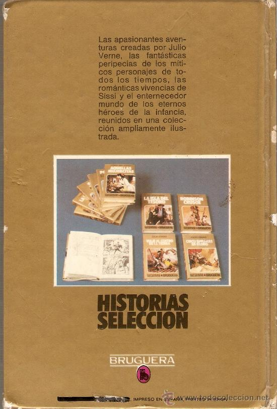 Tebeos: 20000 LEGUAS DE VIAJE SUBMARINO - JULIO VERNE - BRUGUERA - COLECCIÓN HISTORIAS SELECCIÓN - 1981 - Foto 3 - 25123482