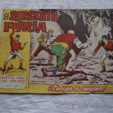 Tebeos: SARGENTO FURIA Nº 24 ORIGINAL. Lote 26693989