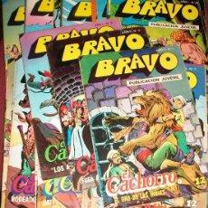 Tebeos: EL CACHORRO (BRAVO) (BRUGUERA) 41 EJ (COMPLETA). Lote 25216460