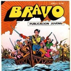 Tebeos: EL CACHORRO - BRAVO - NºS 4,14 AL 18,20 AL 26, 29 AL 31,33,35,37,39,41 -TOTAL 21 NºS,BRUGUERA 1976. Lote 25216618