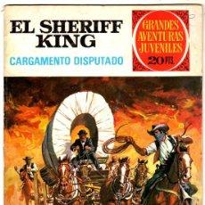 Tebeos: EL SHERIFF KING Nº 8, EDI. BRUGUERA, GRANDES AVENTURAS JUVENILES, . Lote 25247042