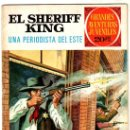 Tebeos: EL SHERIFF KING Nº 31, EDI. BRUGUERA, GRANDES AVENTURAS JUVENILES. Lote 25247056