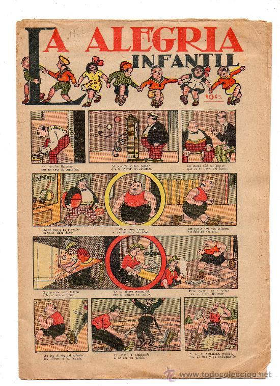 (M-1) LA ALEGRIA INFANTIL 10 CTS - 1922 ??? - SEÑALES DE USO Y DE ALGUNA ROTURITA (Tebeos y Comics - Bruguera - Cuadernillos Varios)