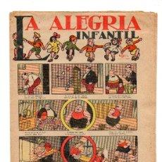 Tebeos: (M-1) LA ALEGRIA INFANTIL 10 CTS - 1922 ??? - SEÑALES DE USO Y DE ALGUNA ROTURITA. Lote 26758458