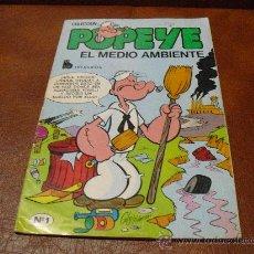 Tebeos: COLECCION POPEYE Nº 1 EL MEDIO AMBIENTE.- 1.978. Lote 25366556