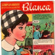 Tebeos: BLANCA - EDI. BRUGUERA 1960 LOTE DE 45 NºS ESTAN EL 0 PRIMERO Y 91 ÚLTIMO, VER 26 IMAGENES. Lote 25416578