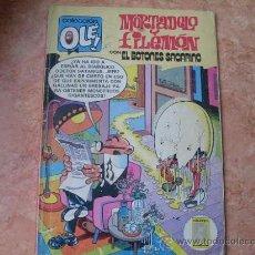 Tebeos: MORTADELO Y FILEMON,CON EL BOTONES SACARINO,Nº 232-M27,EDICIONES B,AÑO 1987. Lote 25455479
