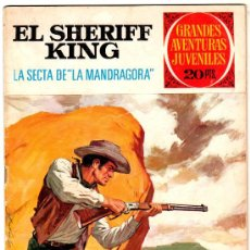 Tebeos: EL SHERIFF KING Nº 30, EDI. BRUGUERA, GRANDES AVENTURAS JUVENILES. Lote 25871725
