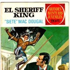 Tebeos: EL SHERIFF KING Nº 22, EDI. BRUGUERA, GRANDES AVENTURAS JUVENILES, EXCELENTE ESTADO. Lote 25871817