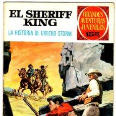 Tebeos: EL SHERIFF KING Nº 20, EDI. BRUGUERA, GRANDES AVENTURAS JUVENILES. Lote 25871869