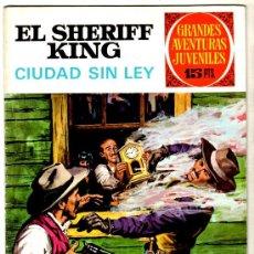 Tebeos: EL SHERIFF KING Nº 18, EDI. BRUGUERA, GRANDES AVENTURAS JUVENILES. Lote 25871888