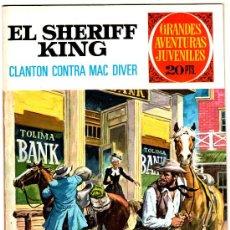 Tebeos: EL SHERIFF KING Nº 14, EDI. BRUGUERA, GRANDES AVENTURAS JUVENILES, COMO NUEVO. Lote 25871900