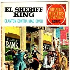 Tebeos: EL SHERIFF KING Nº 14, EDI. BRUGUERA, GRANDES AVENTURAS JUVENILES 1ª EDICCION 15 PTS.. Lote 25871908