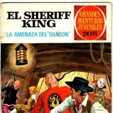Tebeos: EL SHERIFF KING Nº 4, EDI. BRUGUERA, GRANDES AVENTURAS JUVENILES. Lote 25871963