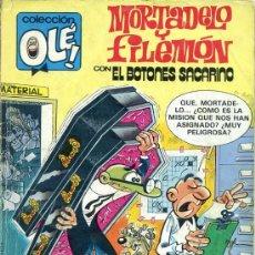 BDs: OLÉ 257 M.46 MORTADELO Y FILEMÓN (1987). Lote 25927109