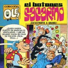 Tebeos: OLÉ 80 EL BOTONES SACARINO (1981). Lote 25927439