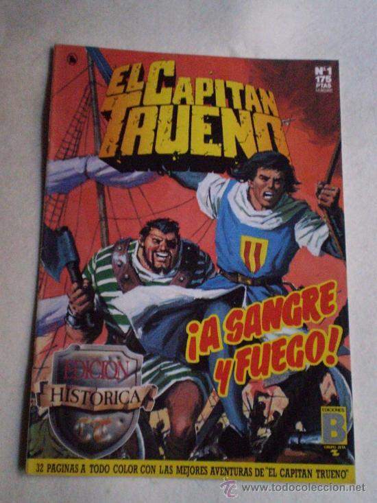 EL CAPITAN TRUENO EDICION HISTORICA COMPLETA.. (Tebeos y Comics - Bruguera - Capitán Trueno)