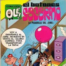 Tebeos: EL BOTONES SACARINO. COLECCION OLE NUMERO 53. 1ª EDICION 1972. NUMERO EN EL LOMO. Lote 26061418