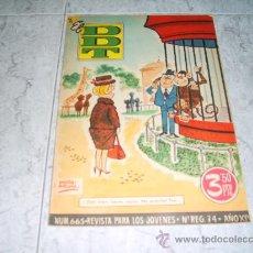 Livros de Banda Desenhada: DDT Nº 665, FEBRERO 1964. REVISTA HUMORISTICA Y DE ACTUALIDAD. REVISTA PARA LOS JOVENES. Lote 26152967
